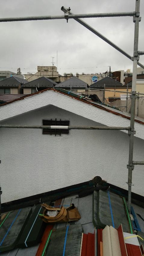 屋根・壁・着工前
