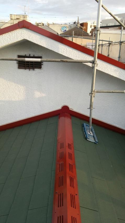 屋根・下屋根 完了
