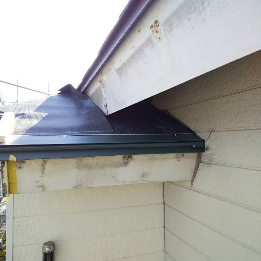 巻き込んだ屋根